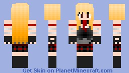 Gothic Anime Girl Minecraft Skin