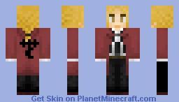 Edward Elric (Fullmetal Alchemist) Minecraft Skin