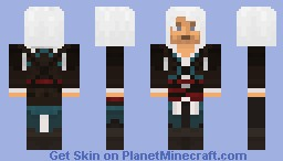 Captain Edward Kenway Minecraft Skin