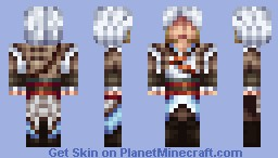 Captain Edward Kenway - Assassin's Creed IV: Black Flag Minecraft Skin