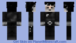 Edward Scissorhands Minecraft Skin