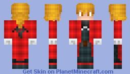 Edward Elric (Complete remake) Minecraft Skin