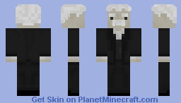 Albert Einstein Minecraft Skin