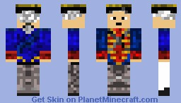 East India Trading Company Soldier Minecraft Skin