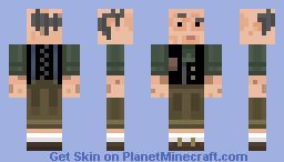 Elderly Minecraft Skin