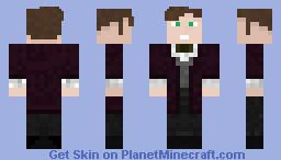 Eleventh Doctor Series 7 Purple Coat