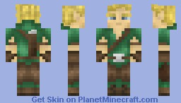 Elf Archer V3 Minecraft Skin