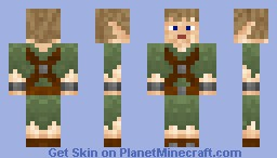 Elf Hunter (Looks better in preview) Minecraft Skin