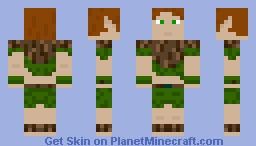 Elf Warrior Minecraft Skin