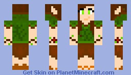 Woodland Nymph Minecraft Skin