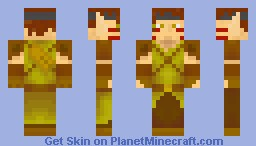 Wood Elf (3D hair) much better in preview.