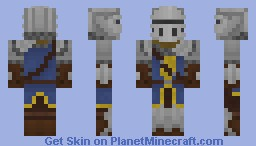 Dark Souls: Elite knight Minecraft Skin