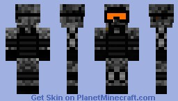 Elite Soldier Minecraft Skin