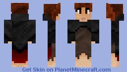 Elyzia (The Street Thief) Minecraft Skin