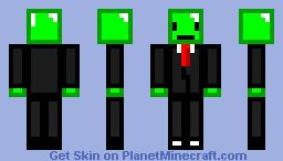 Emerald Man!  ╔═ThêBûll§hcîtt═╗ Minecraft Skin