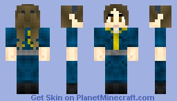 Vault Girl Minecraft Skin