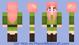 °ѕυgαя° Cube World! - Sakura Minecraft Skin