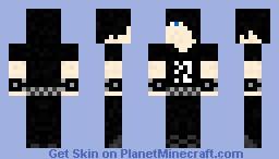 Emo Boy Minecraft Skin