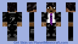 Emo In A Suit Minecraft Skin
