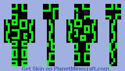 Ender Alien Minecraft Skin