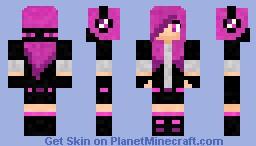 Ender Girl (Mob Series) Minecraft Skin