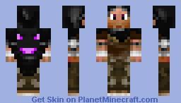 EnderDragon Hunter Minecraft Skin