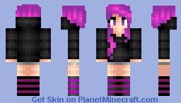 Ender Girl ㄨChristyㄨ Minecraft Skin