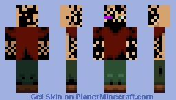 Ender Infected Minecraft Skin