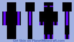 The Ender Minecraft Skin