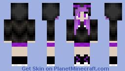 EnderGirl :3 Minecraft Skin