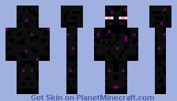 Enderman Replica Minecraft Skin