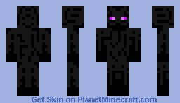Enderman V3 (With moving eyes!) Minecraft Skin