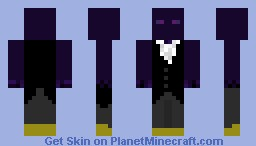 Enderman in a suit