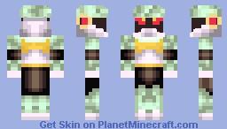 Crag Man (Mega Man X enemy) Minecraft Skin