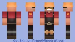 Engineer  | Team fortress 2 Minecraft Skin