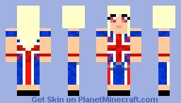 British chick Minecraft Skin