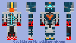 Dead Space 2 Advanced Armor V4.1 (Shading) Minecraft Skin