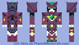 Epyon Gundam Minecraft Skin