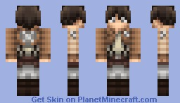 Eren Jaeger [Attack on Titan] POP REEL DANCE Minecraft