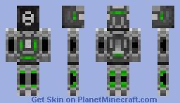 Ester Bot [uplusion23] Minecraft Skin
