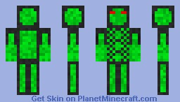 Ever Green Warrior Minecraft Skin