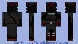 Evil Knight Minecraft Skin