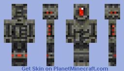 Evil Robot Minecraft Skin