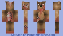 Lost Teddy (63rd place for contest!) Minecraft Skin