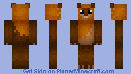 Star Wars Ewok Minecraft Skin