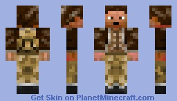 The Explorer Minecraft Skin