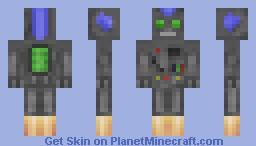 Extra Retro Robot V-119 Minecraft Skin