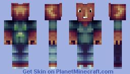The Night Starer Minecraft Skin