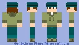 Total Drama - Ezekiel Minecraft Skin