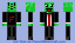 Falip The Little Slime Minecraft Skin